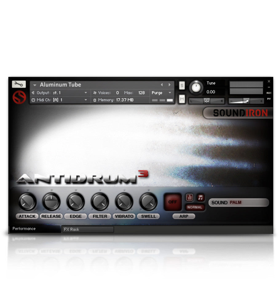 Antidrum 3 - Experimental - virtual instrument sample library for Kontakt by Soundiron