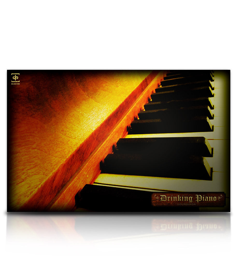 The Drinking Piano - Pianos and Organs - virtual instrument sample library for Kontakt by Soundiron