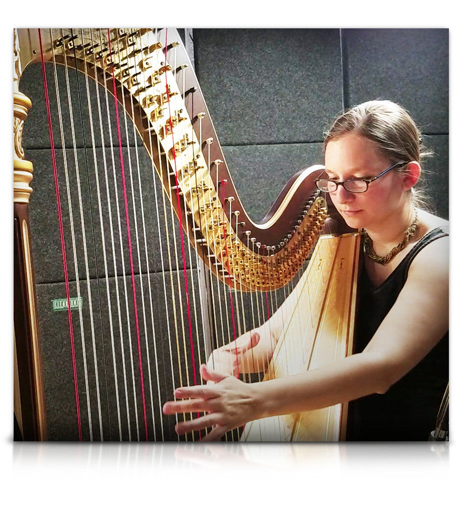 Elysium Harp - Strings - virtual instrument sample library for Kontakt by Soundiron