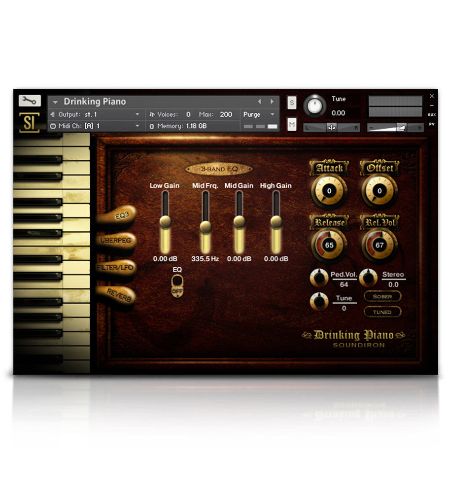 Piano & Keys Bundle - Pianos and Organs - virtual instrument sample library for Kontakt by Soundiron