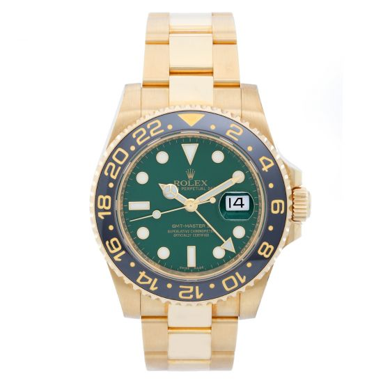 Rolex GMT-Master II in Yellow Gold