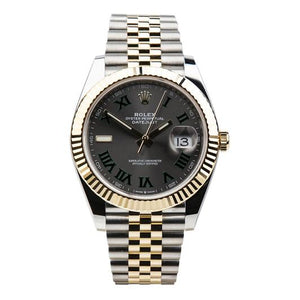 Rolex Datejust 41 Wimbledon Two-Tone