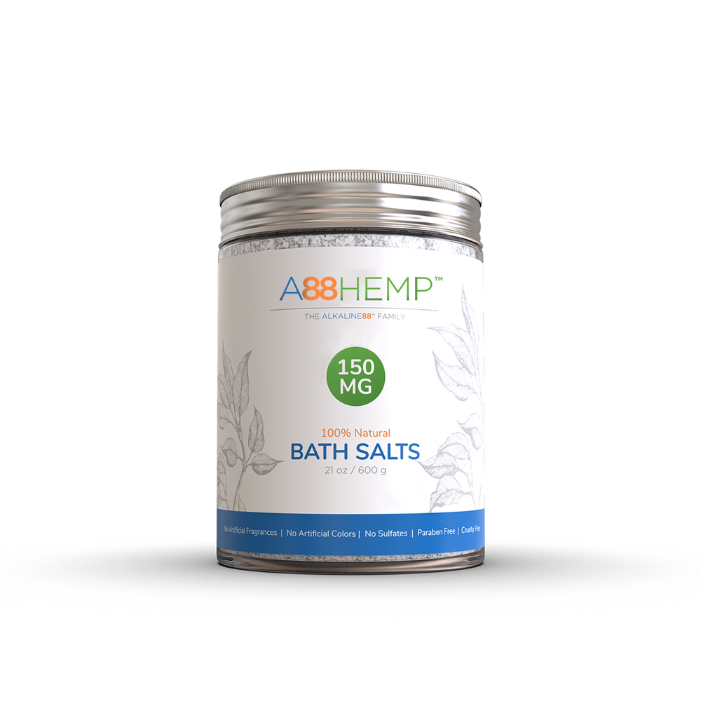 Ultra-Soothing Hemp Bath Salts For Relaxation