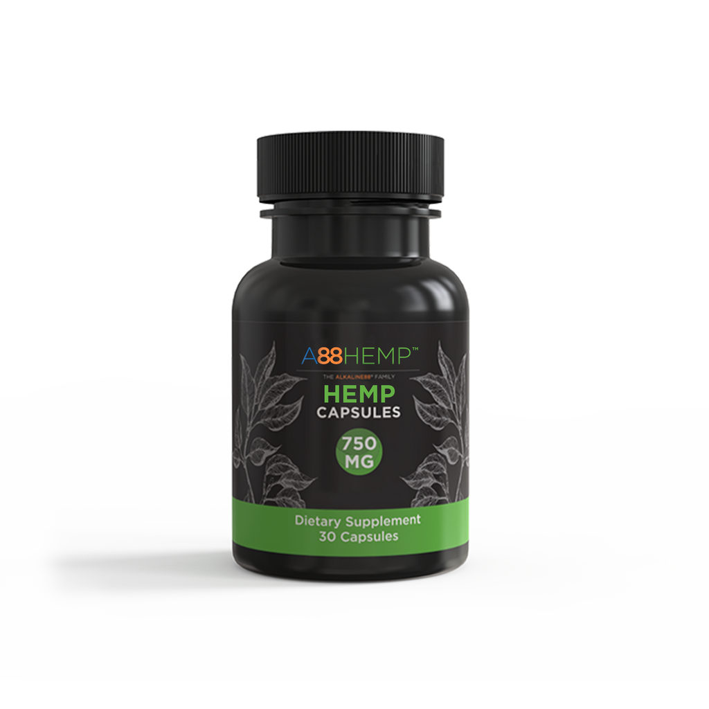 Full Spectrum Hemp Capsules For Stress Relief + Maximum Potency