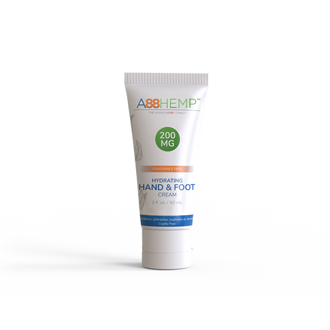 Hydrating Hemp Hand + Foot Moisturizer Cream For Deeply Nourished Skin