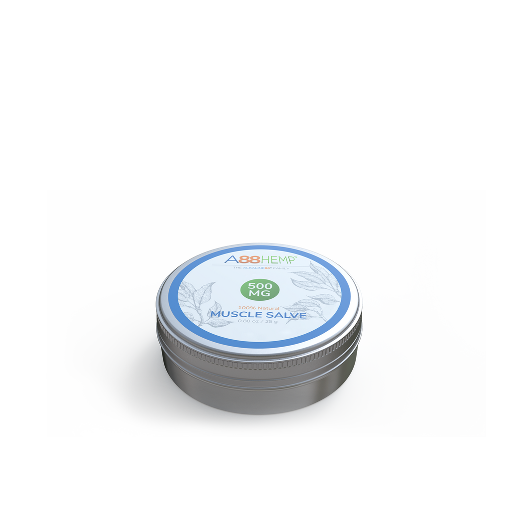 Hemp-Infused Muscle Salve
