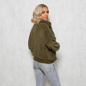 Teddy Jacket - Khaki