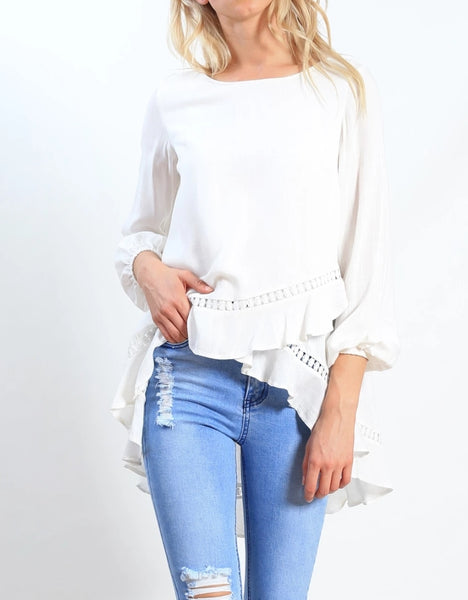 Bella asymmetrical top