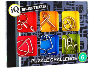 Puzzle - IQ Buster: Metal Challenge Set