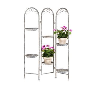 Arched Baroque Pot Plant Stand / Screen