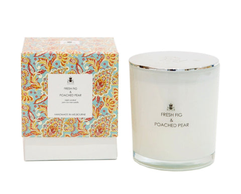 Paisley Collection - Fresh Fig & Poached Pear Soy Candle