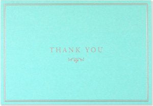 Note Cards - Boxed: Thank You