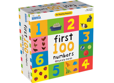 Puzzle Matching Game - First 100 Numbers