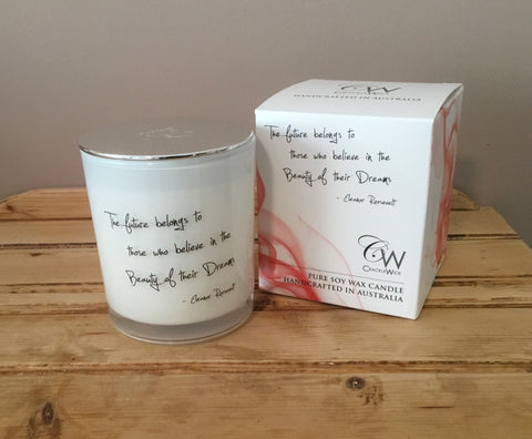 Inspiration Soy Candle - Eleanor Roosevelt