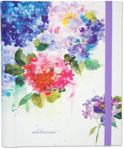 Address Book - Hydrangeas
