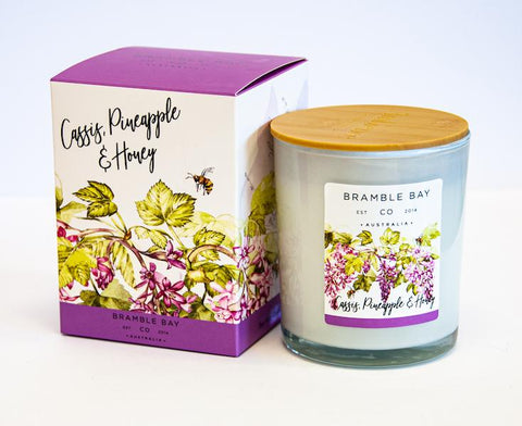 B&B Luxury Candle - Cassis, Pineapple & Honey