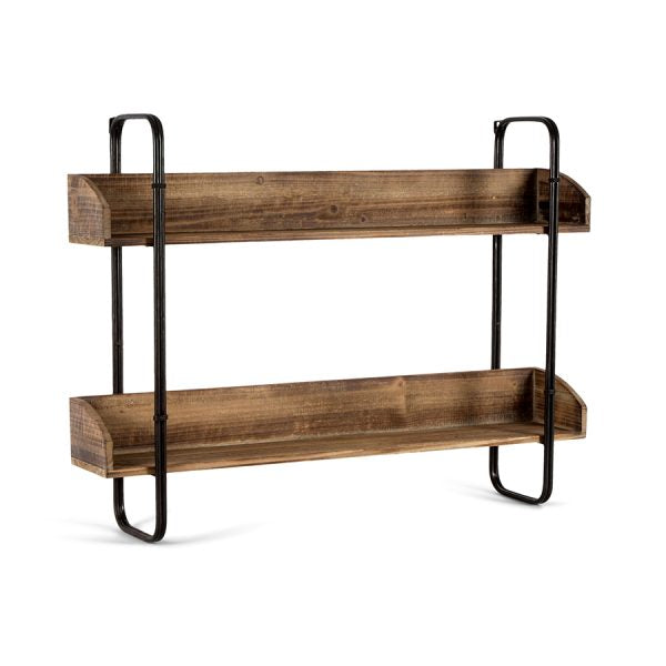 Furniture - Industro Chic Hanging Wall Shelves