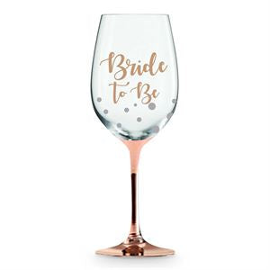 Wine Glass - Bride to Be