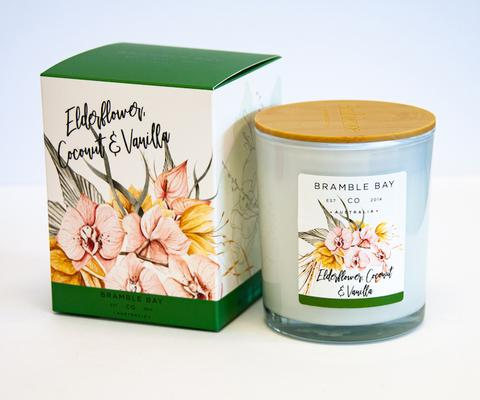 B&B Luxury Candle - Elderflower, Coconut & Vanilla