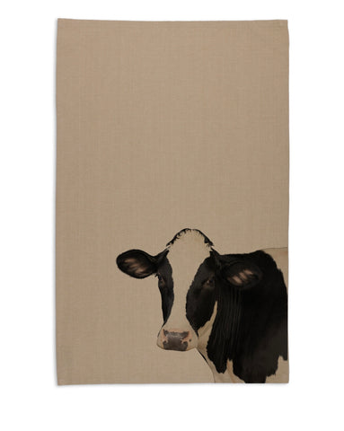 Tea Towel - Cow Head