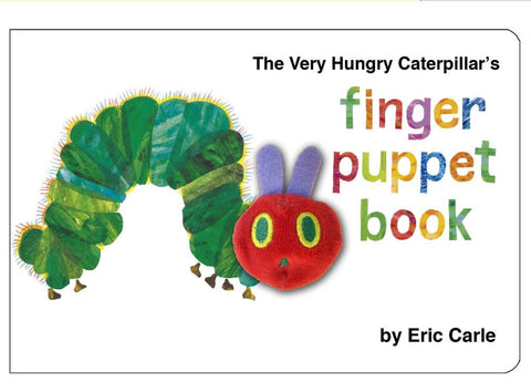 Book - The Very Hungry Caterpillar- with Finger Puppet