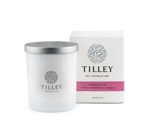 Tilley Soy Candle - Persian Fig