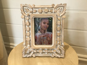 Photo Frame - Wooden Hand Carved