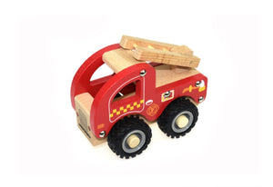 Wooden Toy - Fire Engine