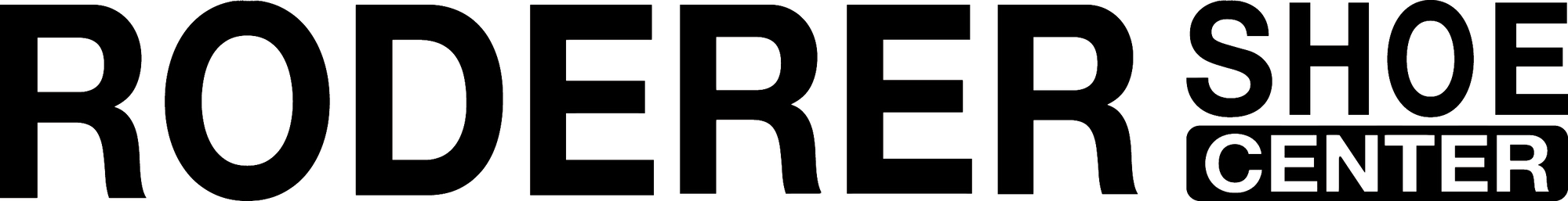 Roderer Shoe Center Logo