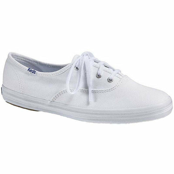 CHAMP OXFORD WHITE CANVAS WOMEN'S