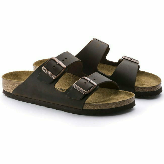 ARIZONA HABANA OILED LEATHER REGULAR BIRKENSTOCK - Roderer Shoe Center - FOOTWEAR