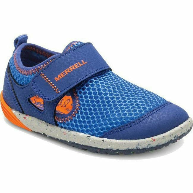 BARE STEPS H20 BLUE MERRELL - Roderer Shoe Center - FOOTWEAR