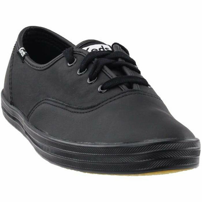CHAMPION OXFORD BLACK LEATHER WOMEN'S