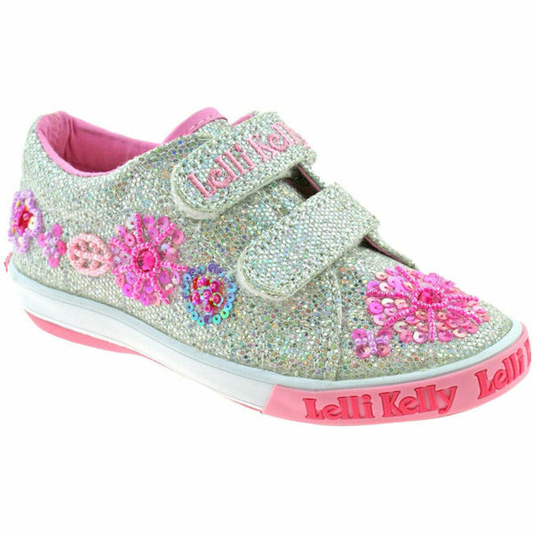 GLITTER DAISY VELCRO (TODDLER/LITTLE KID)