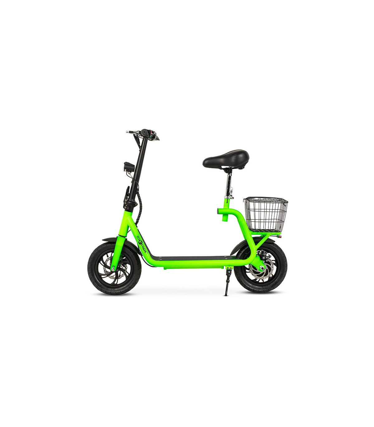 Patinete-Scooter Eléctrico tipo moto, motor 350W, color Verde