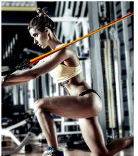 Load image into Gallery viewer, 11 Pc Resistance Band / Tube Set With Handles, Ankle Straps And Door Anchor - stayfitinside.ca