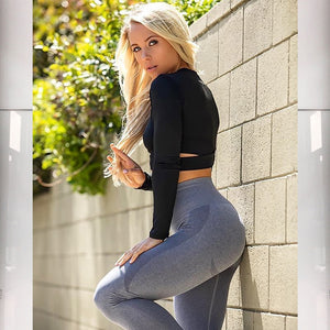 High Waist Seamless Leggings | stayfitinside.ca | Canada - stayfitinside.ca