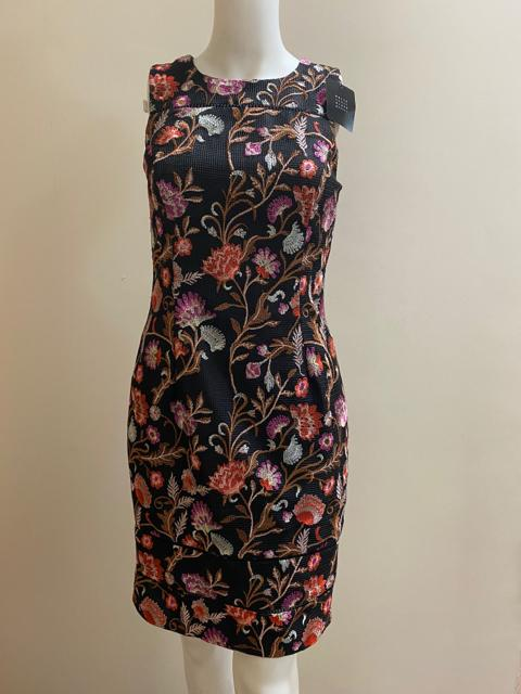 WHITEHOUSE/BLACK MKT Size 0 BLACK FLORAL Dress