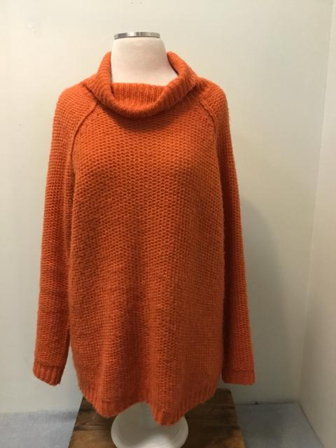 COTTON CANDY Size S Orange Sweater - Urban Renewal Woodstock