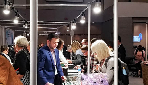 Best LED trade show lighting for jewelry displays