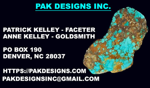 PAK Designs Inc. rare gemstones & Turquoise, fine & estate jewelry