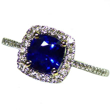 Load image into Gallery viewer, Natural unheated blue Ceylon sapphire