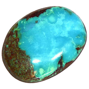 Natural oval Bisbee Turquoise