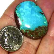 Load image into Gallery viewer, Unstabilized, natural Bisbee turquoise cab