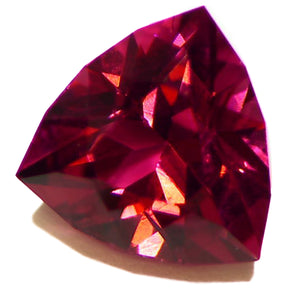 All natural trillion cut 2.85ct Rubellite Tourmaline