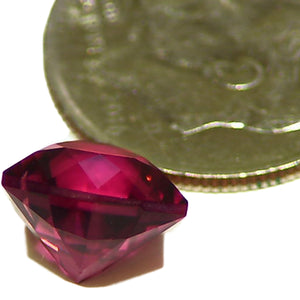 Clean faceted Rubellite Tourmaline