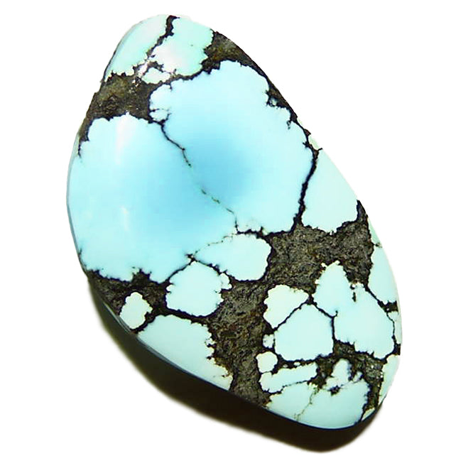 Robin's egg blue natural lone mountain turquoise from Nevada