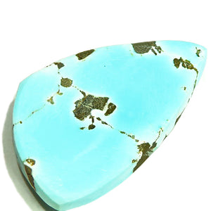 Unstabilized, all natural Nevada Turquoise