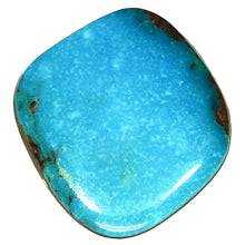 Load image into Gallery viewer, Rich blue, natural Bisbee turquoise cab