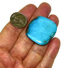 Load image into Gallery viewer, Bright blue, natural Bisbee turquoise cab